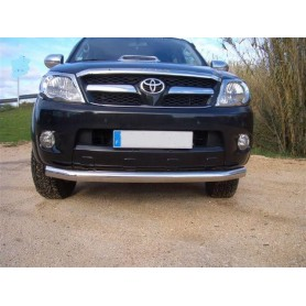 Barre de protection avant inox Toyota Hilux Vigo modèles de 2005 à 2015