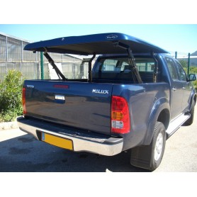 Cover Benne Multi-positions Hilux Vigo Double Cabin from 2012 to 2015