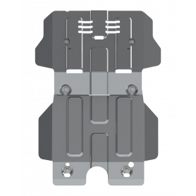 Hilux Engine Armour - Alu 6mm - from 2016