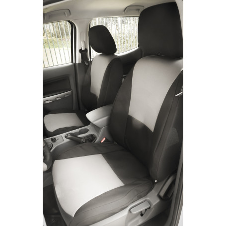 Ranger Seat Cover - Reinforced Canvas - Double Cab from 2012