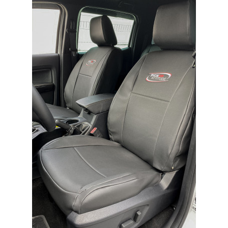Ranger Seat Cover - Leather-Likely - Double Cab from 2012
