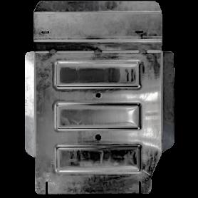 Scatola di velocità Fullback e armatura di trasferimento - Alu 5mm