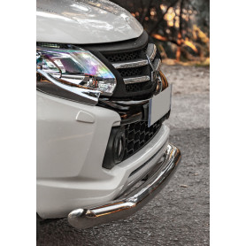 copy of Stainless front tube shock-bumper for L200