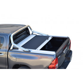 Hilux Sliding Curtain - Invincible Double Cabin - from 2016