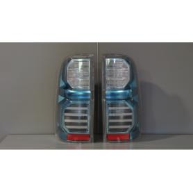 """Feux arrières """"Crystal bleu"""" LED pour Toyota Hilux"""
