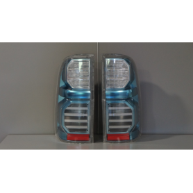"""LED """"Crystal Blue"""" taillights for Toyota Hilux"""