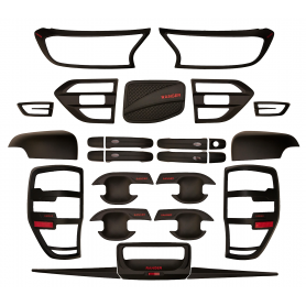 20 Enjoliveurs Ranger - Pack Complet - (T7 de 2016 à 2019)