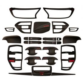 copy of Scheinwerfer- und Black Ampel-Radkappen Ford Ranger