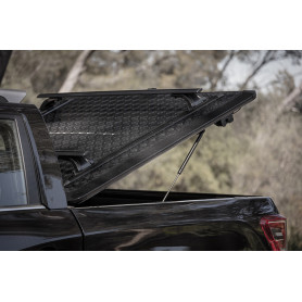 Covers Aluminum Dumpster Black Dmax - Crew Cabin from 2012