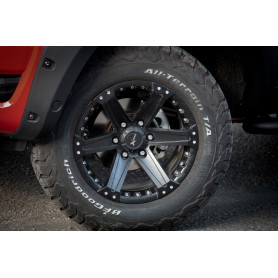 18 Inch Alu Rim Yachiyoda - Ford - XT16 Black Matt