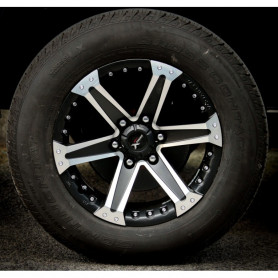 Alu Rim 18 Inch L200 - Yachiyoda - XT16 Black Matt Polish