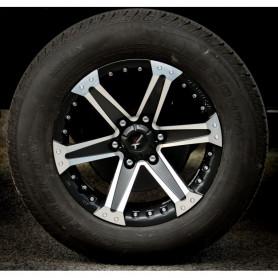 18 Inch Fiat Fullback Alu Rim - Yachiyoda - XT16 Black Matt Polish