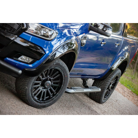 Jante Alu 20 Pouces Ford Ranger - Yachiyoda - Ultra Star Black Matt
