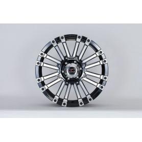 Alu Rim 20 Inch Toyota Hilux - Yachiyoda - Ultra Star Black Polish