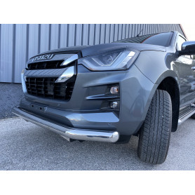 Stainless steel front bumper protection Dmax N60 - from 2020