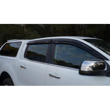 Kit Déflecteurs d'air pour Ford Ranger 2012 Double cabine