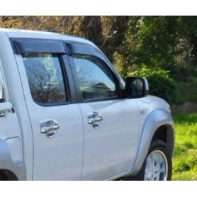 Kit embellishments chrome door handles for MAZDA BT50