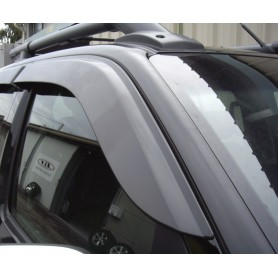 King Cabin window deflectors