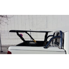"""Couvre Benne """"Multi-positions"""" + roll bar inox pour Double Cabine"""