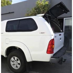 Hard Top Prestige SJS vitré Toyota Hilux Vigo en Extra Cabine de 2005 à 2015