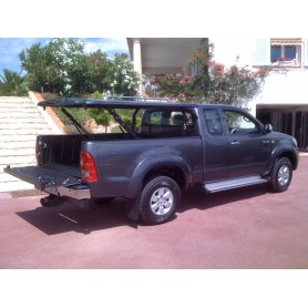 Cover Benne Multi-positions Hilux Vigo Extra Cabin from 2012 to 2015