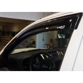 Déflecteurs de porte Toyota Hilux Vigo pour Extra Cabine