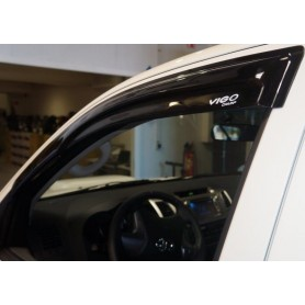 Toyota Hilux Vigo door deflectors for Extra Cabin
