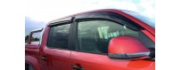 Ford Ranger deflectors