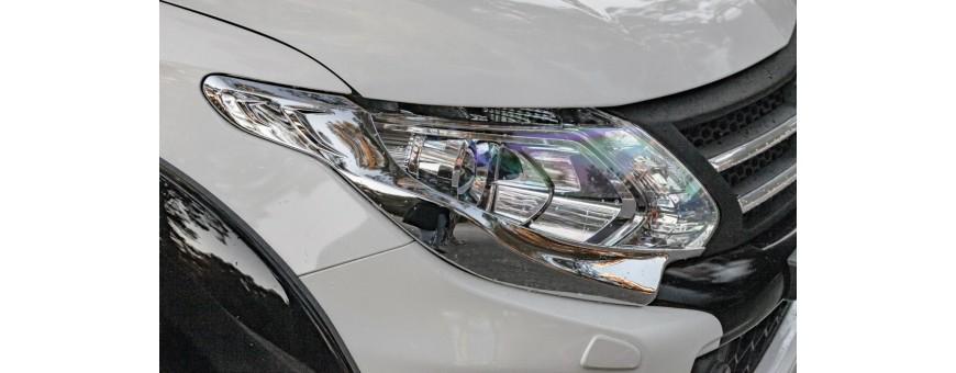 Mitsubishi L200 Headlights and Taillights Covers