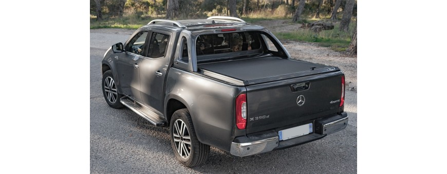 Cover Benne and Curtain Slide Mercedes X-Class