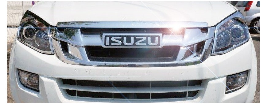 D Max Headlights and Taillights Covers