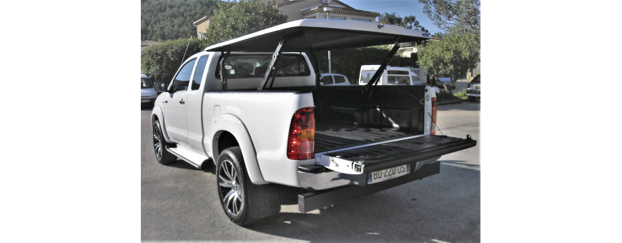 Couvre Benne Multiposition Hilux