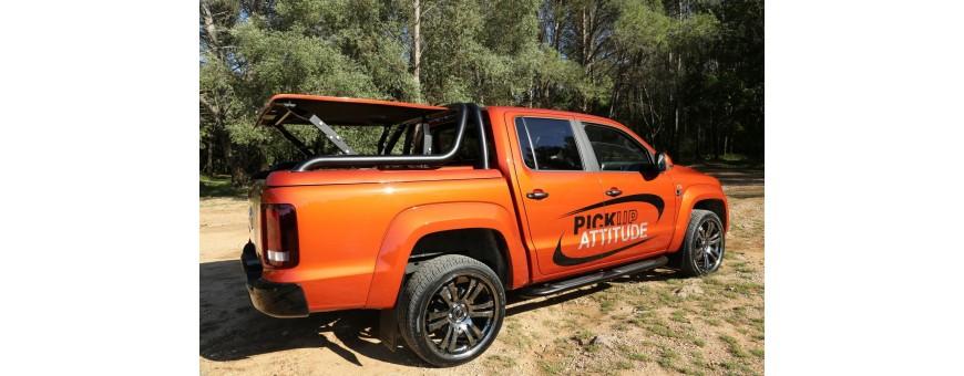 Couvre bennes et Rideaux coulissants pour VW Amarok