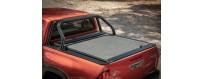 Couvre bennes et rideaux coulissants pour Toyota Hilux 2012