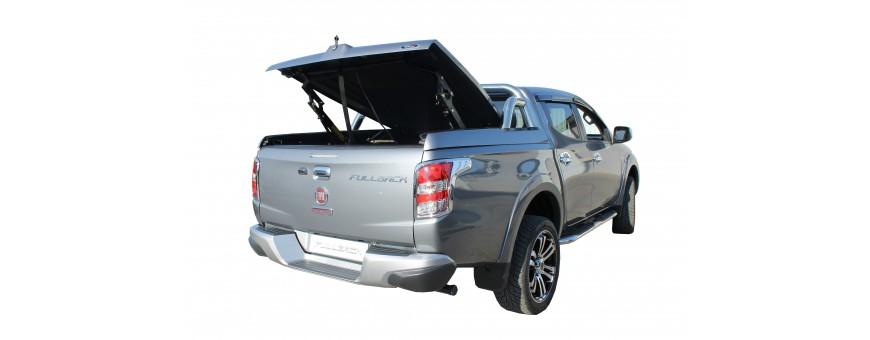 Couvre Benne - Rideaux Coulissants pour Fiat Fullback